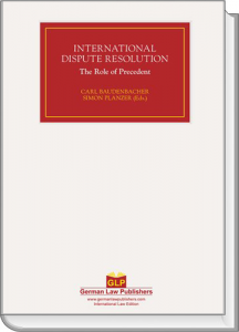 International Dispute Resolution, Volume 3
